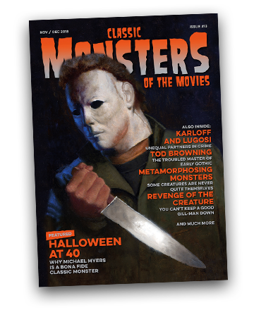 Classic Monsters of the Movies issue #13