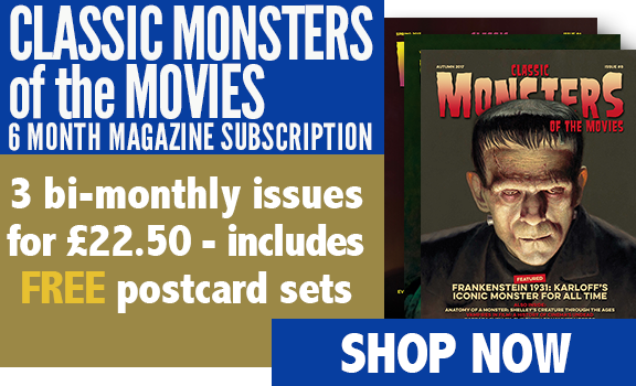 Classic Monsters of the Movies 3-Issue Subscription