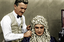 Jack Pierce and Conrad Veidt