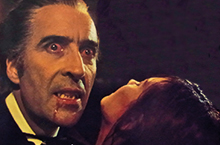 Dracula with Christopher Lee